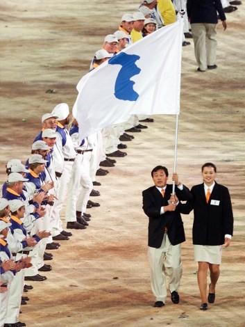 OLY2000-OPENING-KOREA