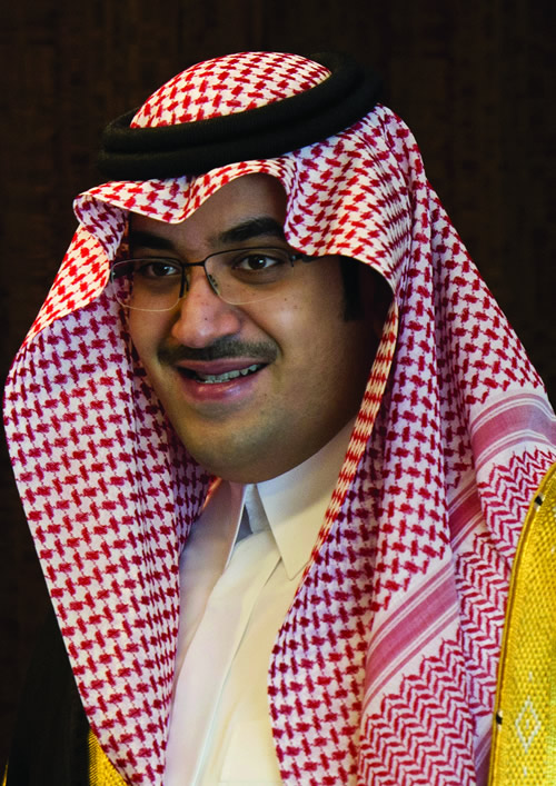 H.R.H. Prince Nawaf Faisal Fahd Abdulaziz of Saudi Arabia