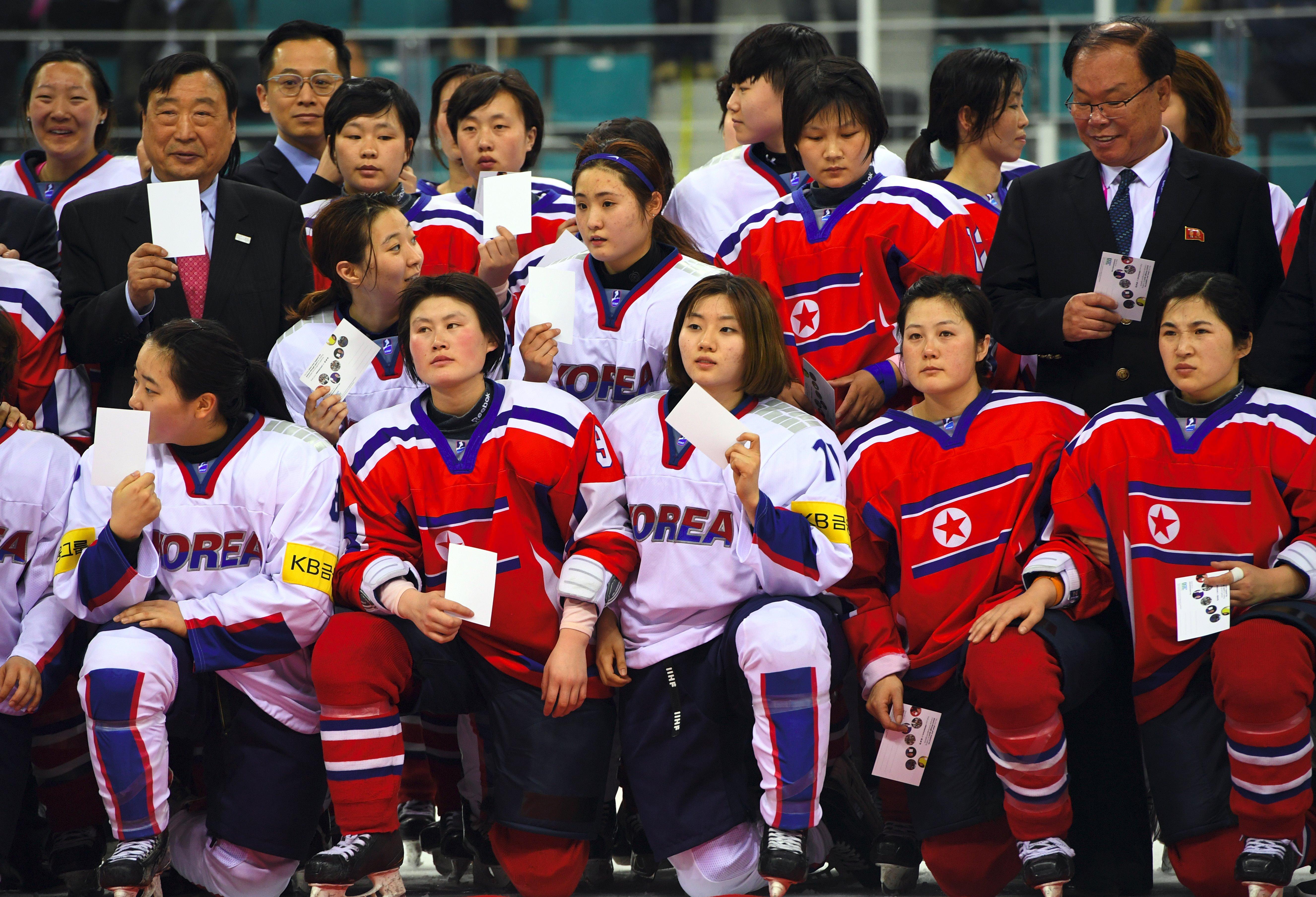 south koreas hockey team - HD5304×3616