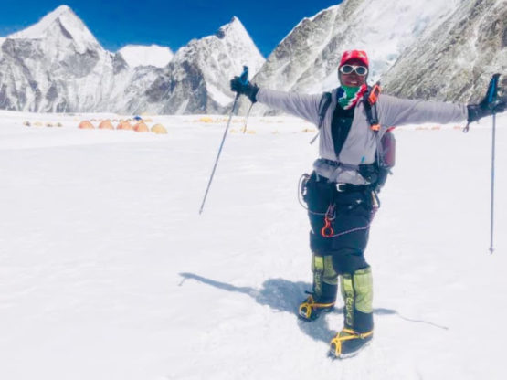 First black African woman makes landmark Everest summit -