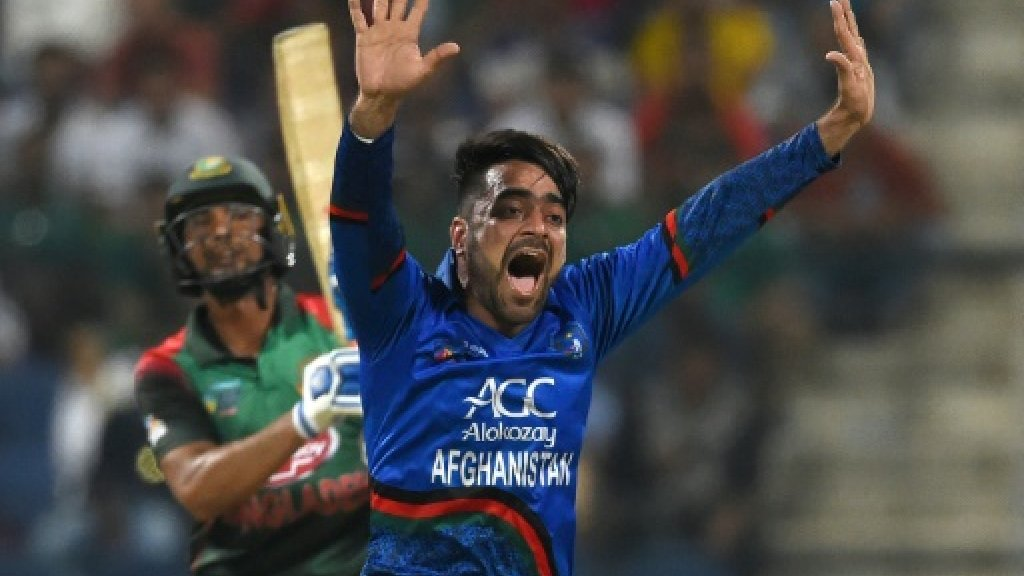 Rashid Khan: from refugee to Afghan World Cup star -