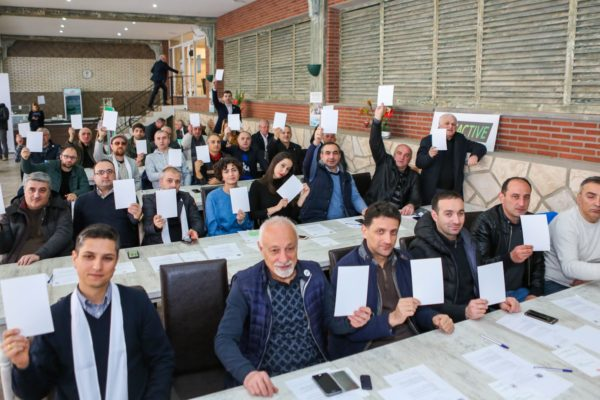 Federation representatives at a seminar dedicated to April 6 #WhiteCard